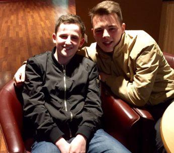 Callum L and Rhys R