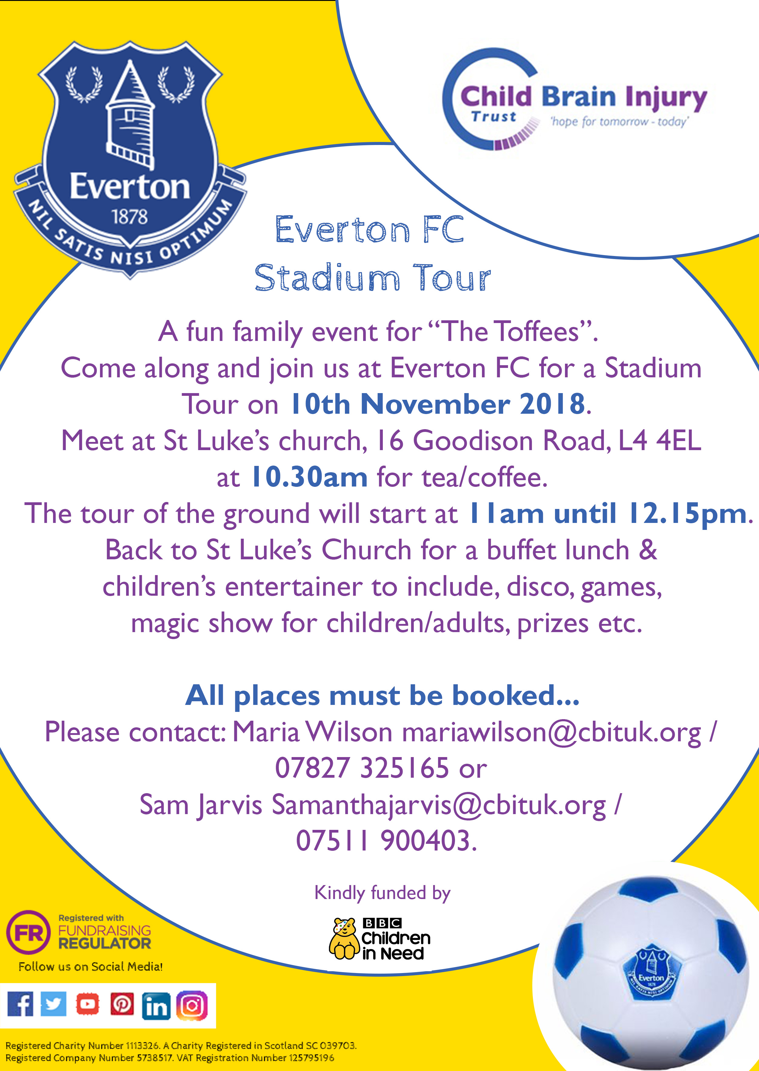 Everton stadium tour - Maria