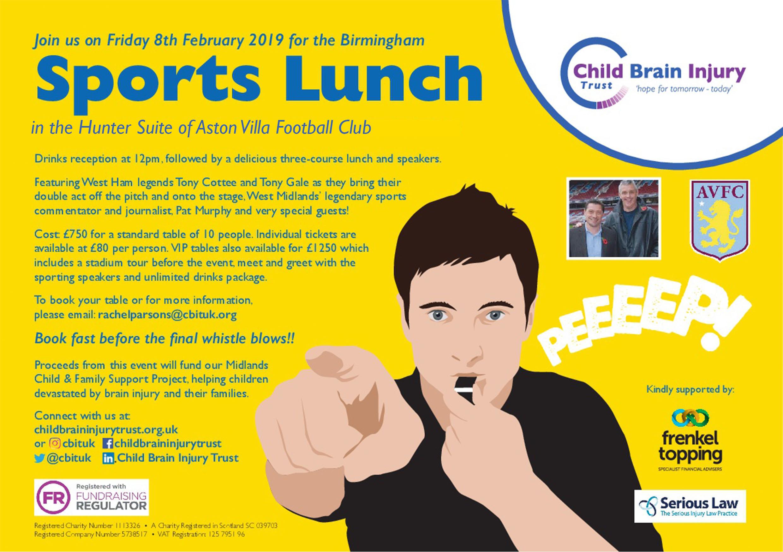 Birmingham Sports Lunch
