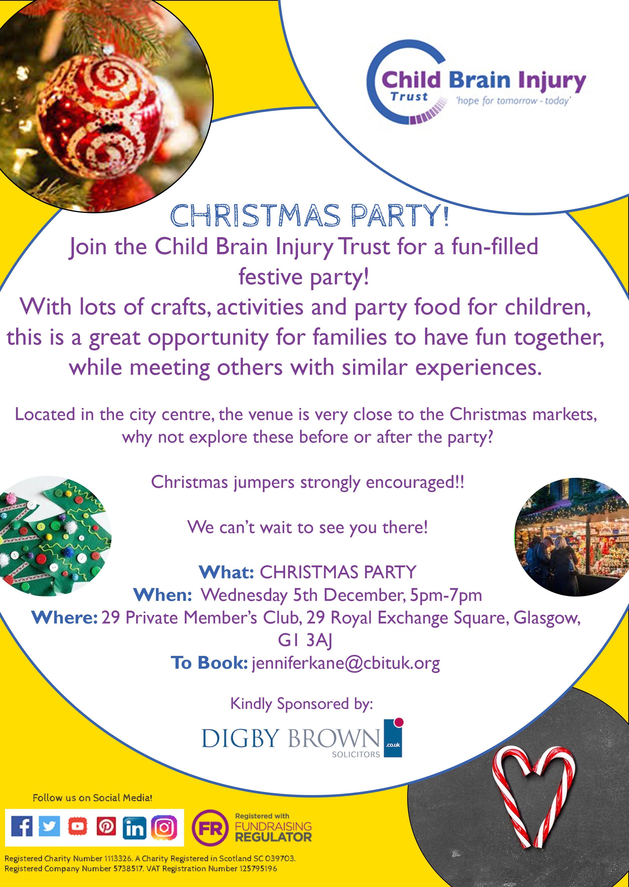 Christmas Party! - Child Brain Injury Trust