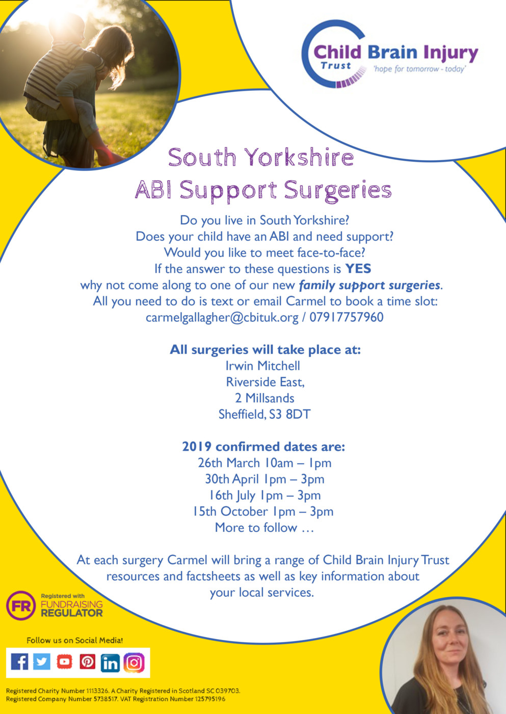 Carmel ABI support surgeries