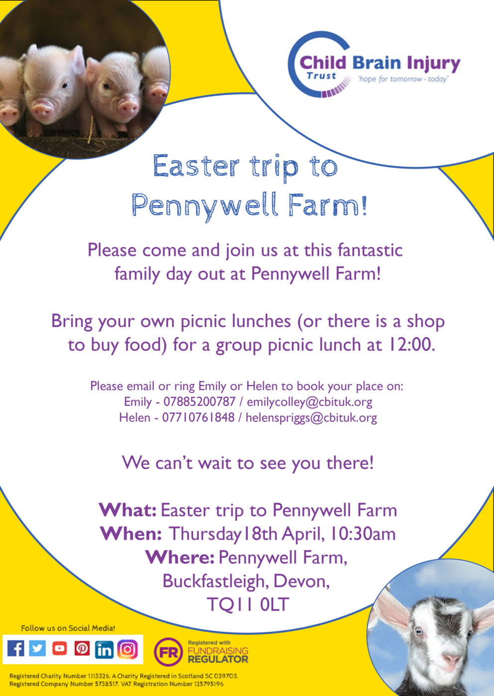 Emily and Helen - Pennywell farm event
