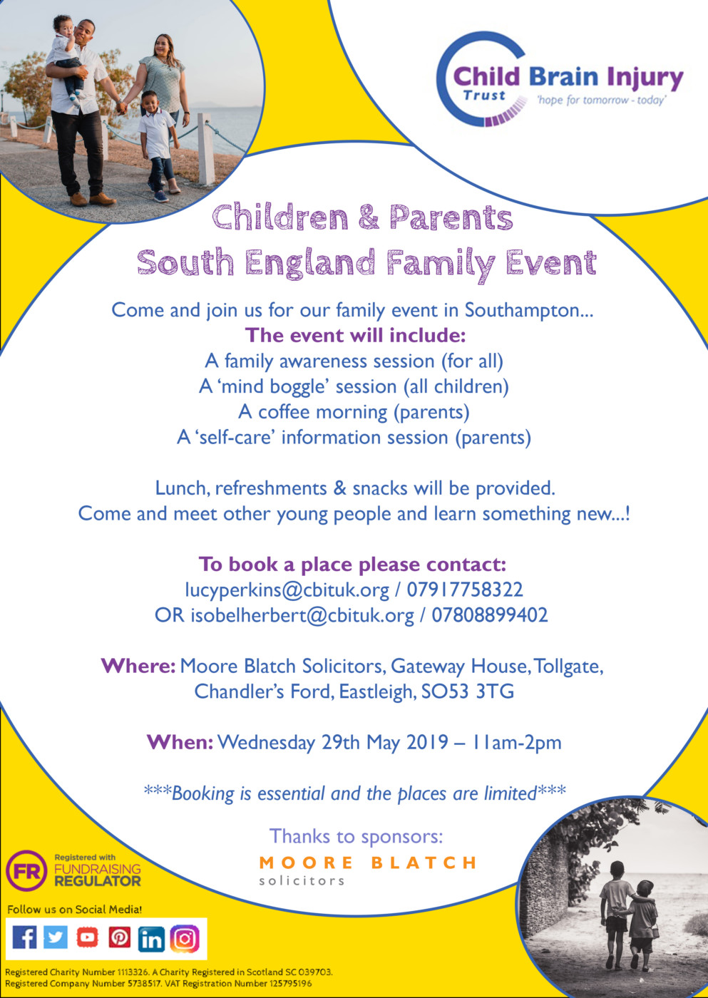 Isobel & Lucy southampton family event