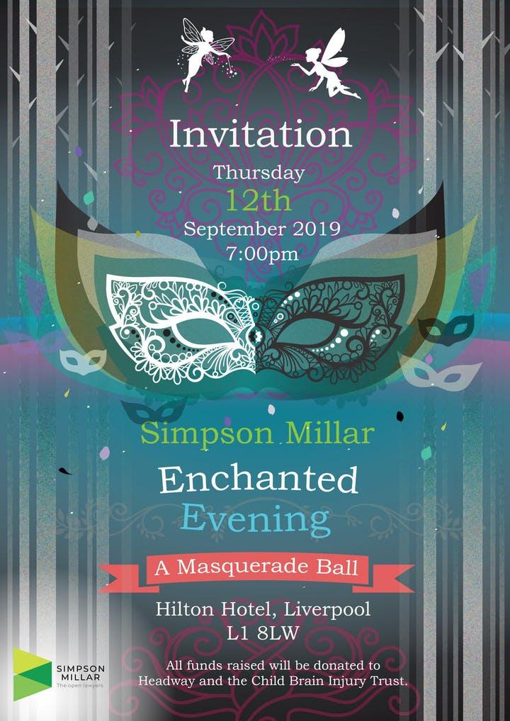 Simpson Millar Enchanted Evening Masquerade Ball - Child Brain