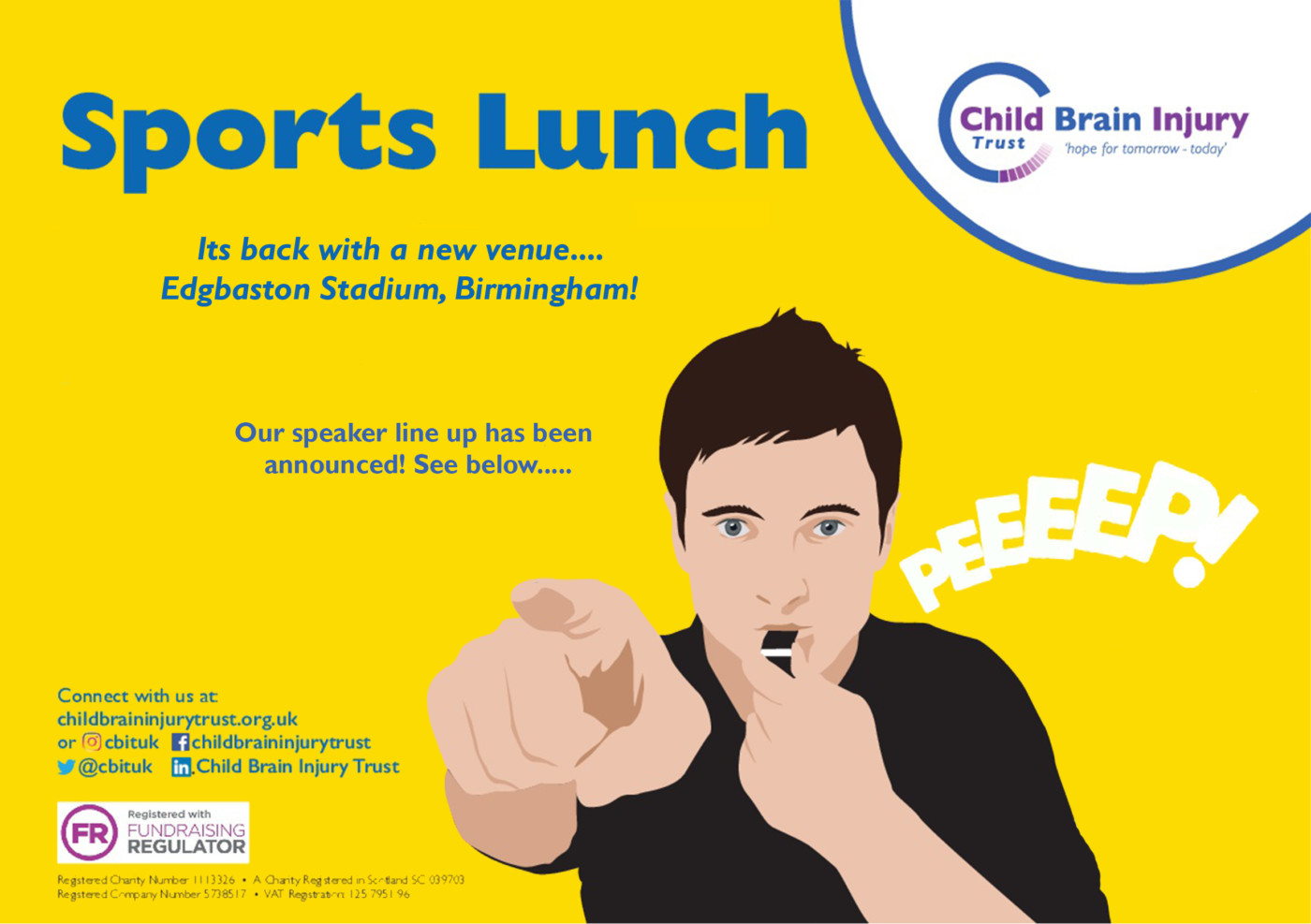 Birmingham Sports Lunch- Save the date
