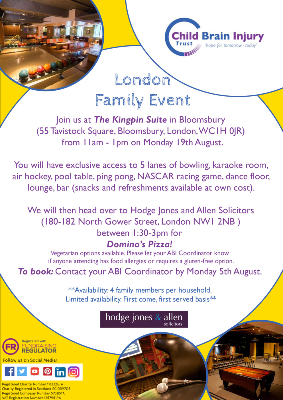 London Family Event - summer 2019