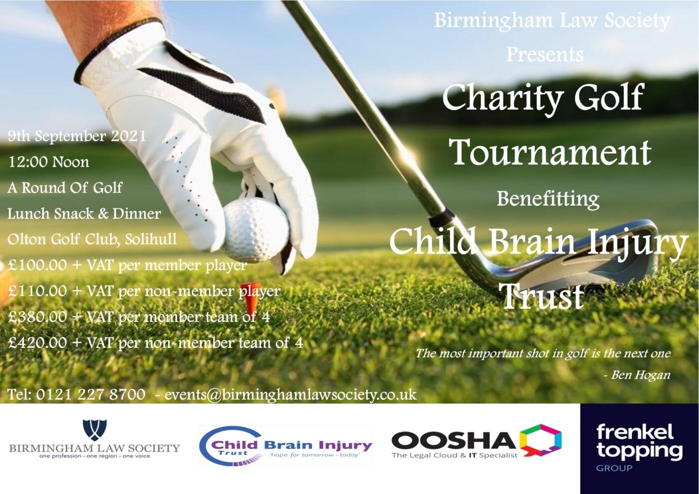 Birmingham Law Society Charity Golf Day