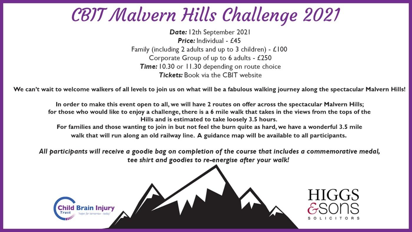 CBIT Malvern Hills Challenge 2021