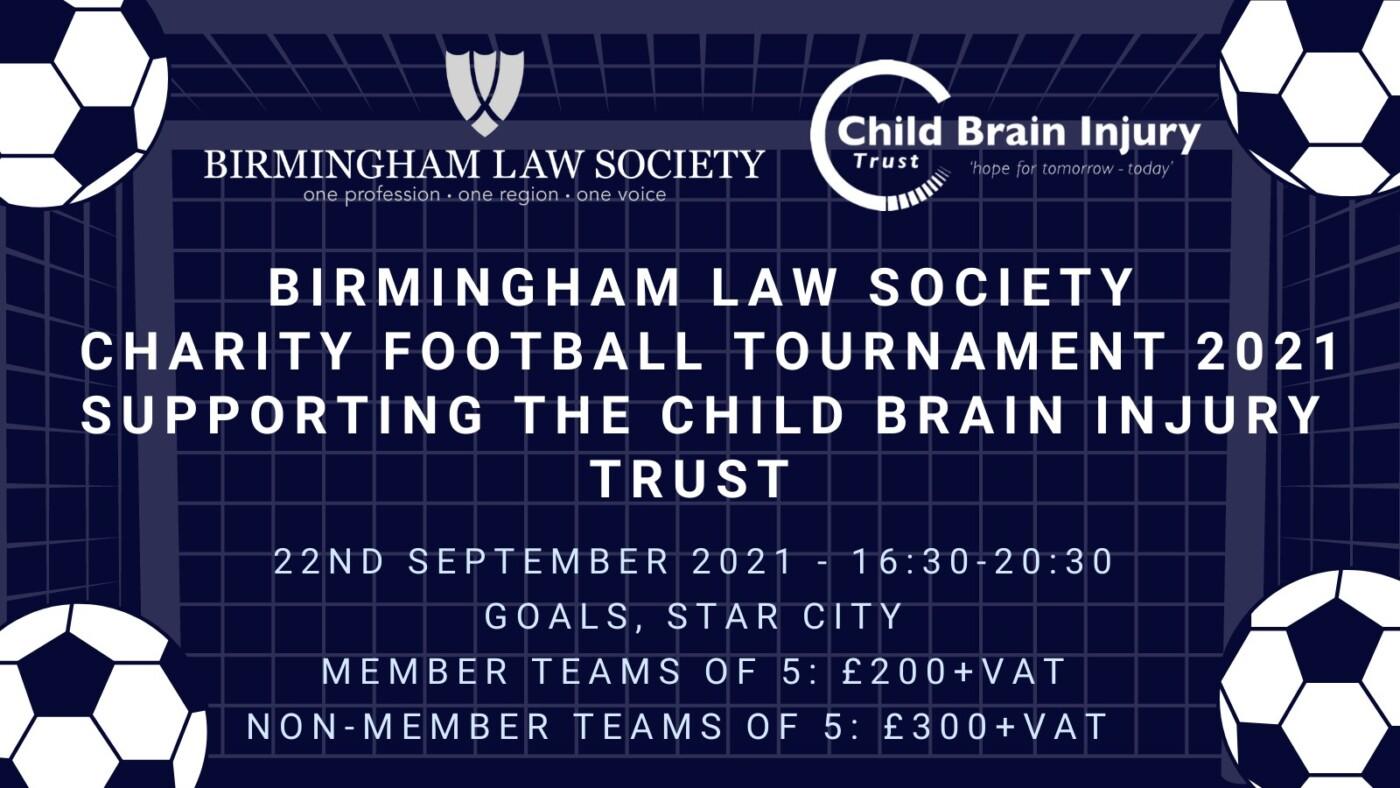 Birmingham Law Society Charity Football Tournament